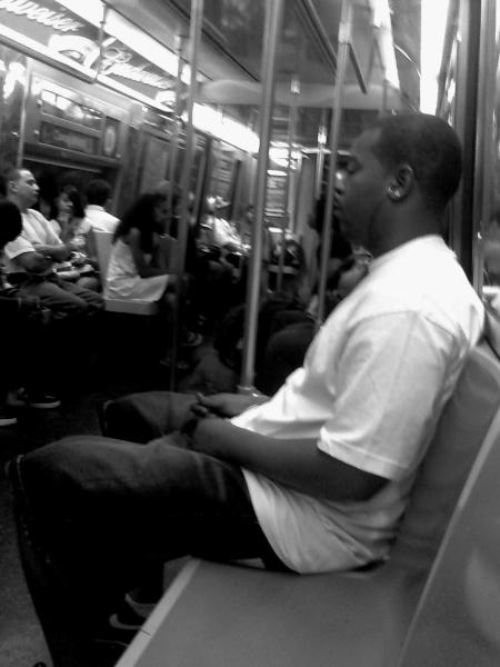 Gente en metro