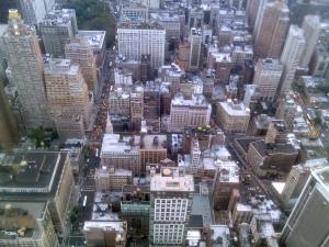 A cuatrocientos metros de altura, la perspectiva cambia