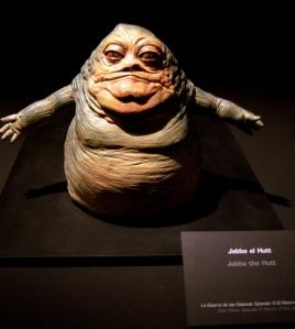 El visco Jabba El Hutt, que hacia la vida imposible a nuestros héroes