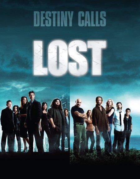 Cartel promocional del inicio de la quinta temporada de Perdidos