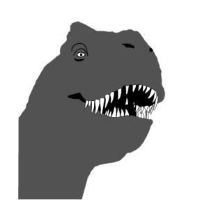 Al tiranosaurio de Toy «R» Us sólo le falta comerse a los clientes. ¡Me llevo uno!