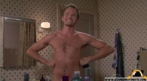 Barney, sonriendo ante el público de la gala de los Emmy 2009